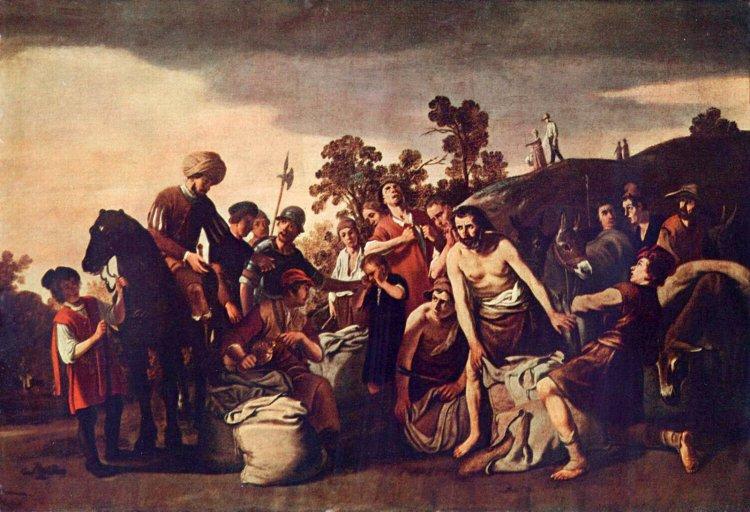 Joseph finds the silver in Benjamin's sacks