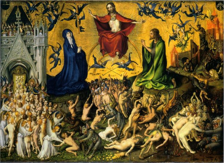 Stefan Lochner, The Last Judgment, c. 1435