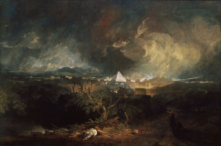 Joseph Mallord William Turner, The Fifth Plague of Egypt (1800)