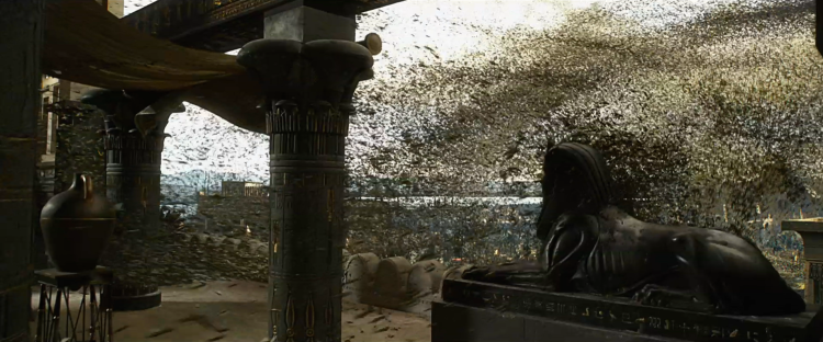 The Plague of Flies — Exodus: Gods and Kings (2014)