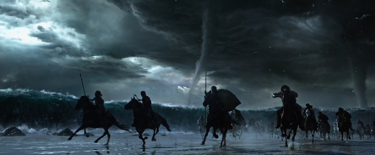 "In Ridley Scott's new film, the ""pillar of cloud"" has apparently been reinterpreted as a swarm of tornadoes. — Exodus: Gods and Kings (2014)"