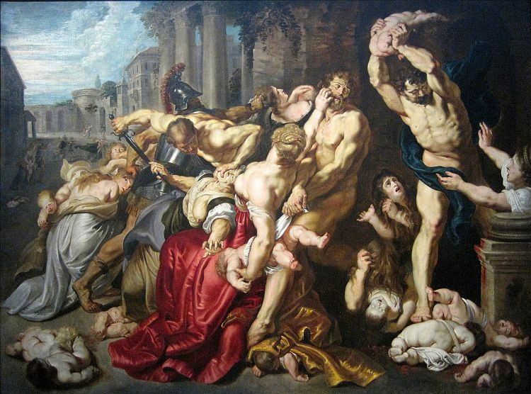 The Massacre of the Innocents by Peter Paul Reubens, c. 1612