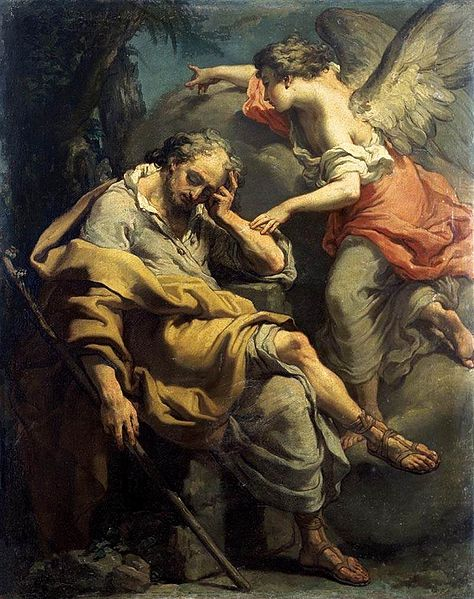 """ Joseph's Dream"" by Gaetano Gandolfi, c. 1790"