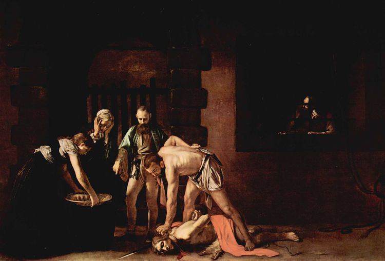 Caravaggio, The Beheading of St. John the Baptist, 1608