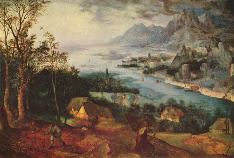 PIeter Bruegel the Elder, Landscape with the Parable of the Sower, 1557