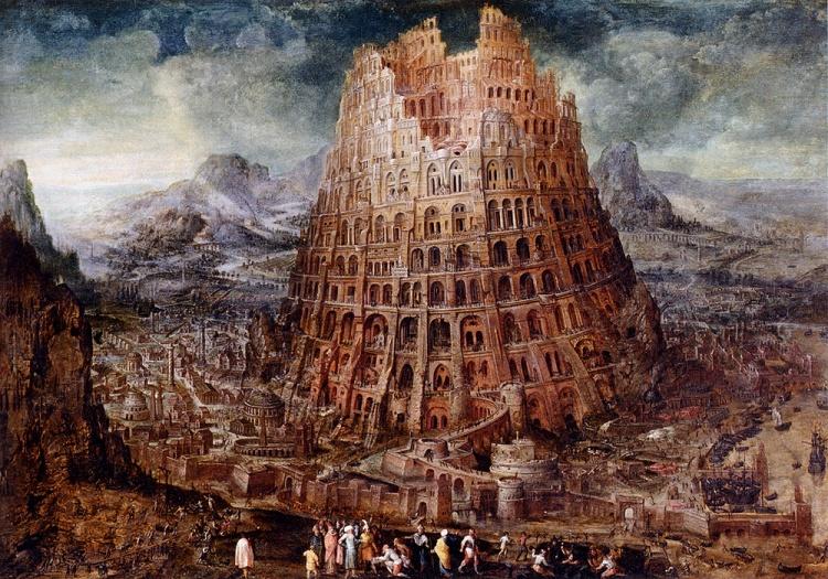 Image result for catholic old testament genesis tower of babel