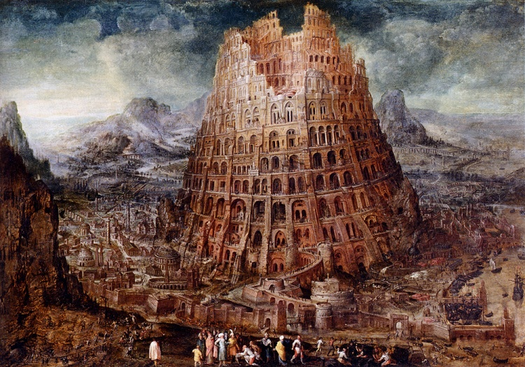 Marten van Valckenborch, The Tower of Babel, circa 1600