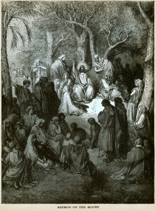 Sermon on the Mount by Gustav Dore