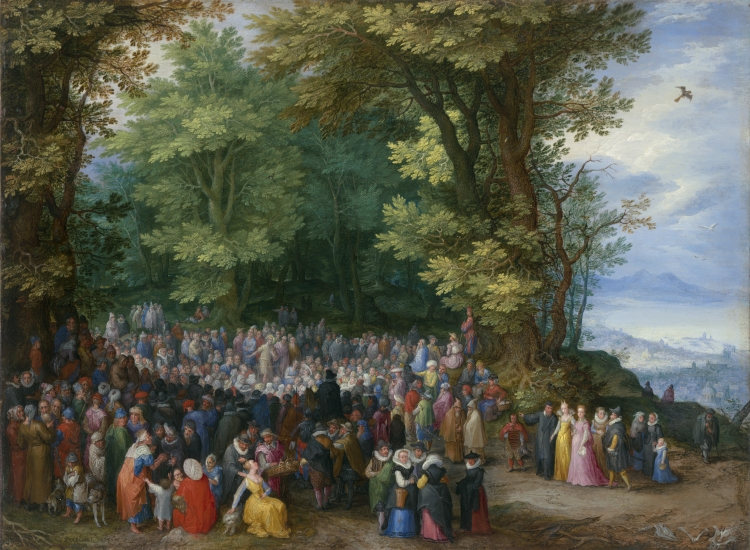 The Sermon on the Mount by Jan Brueghel the Elder, 1598