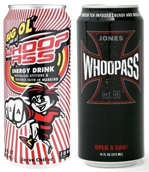 What the Israelites really needed to beat the Amorites was a cold, refreshing can of Whoop-Ass.