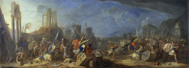 Joshua's Battle by J. H. Schönfeld, c. 1635