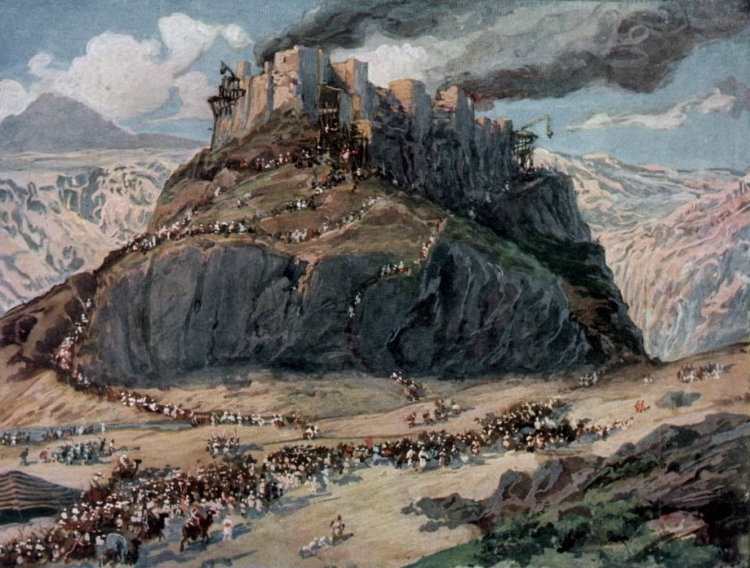 James Tissot, The Conquest of the Amorites, c. 1902