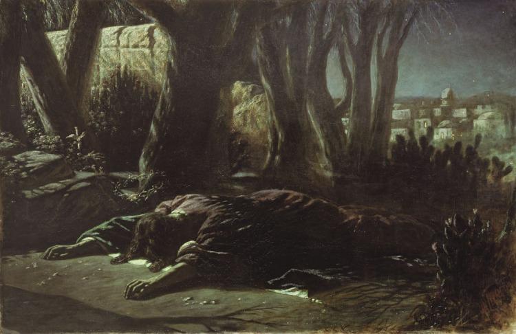 Gethsemane by Wassilij Grigorjewitsch Perow, 1878