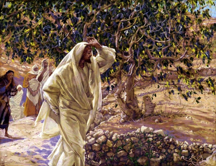 The Accursed Fig Tree by James Tissot