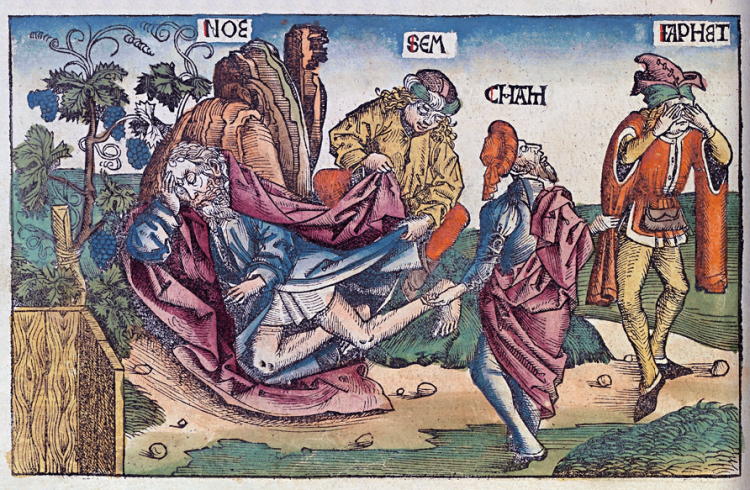 Illustration from the Nuremberg Chronicles