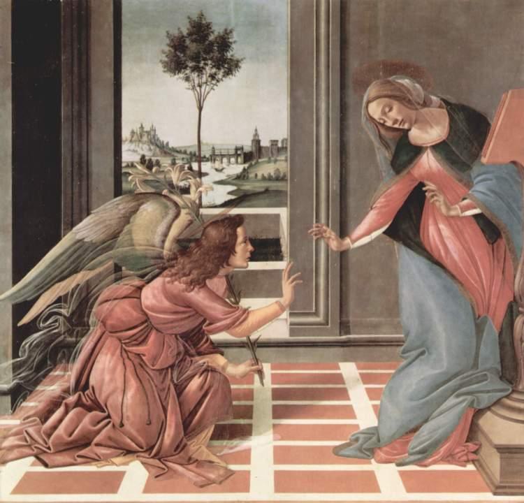 Annunciazione by Botticelli (1489–1490)