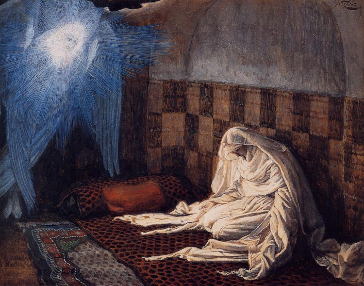 The Annunciation by James Tissot