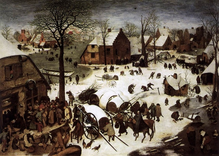 The Census at Bethlehem, Peter Bruegel the Elder