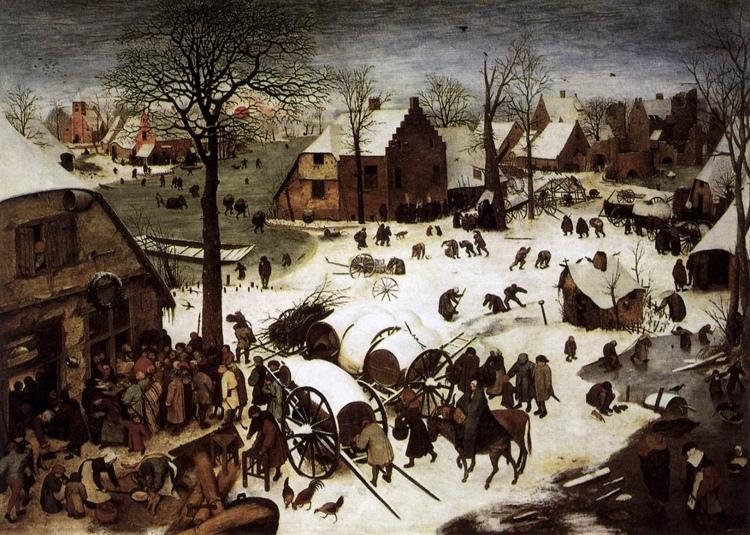 The Census at Bethlehem, Peter Bruegel the Elder
