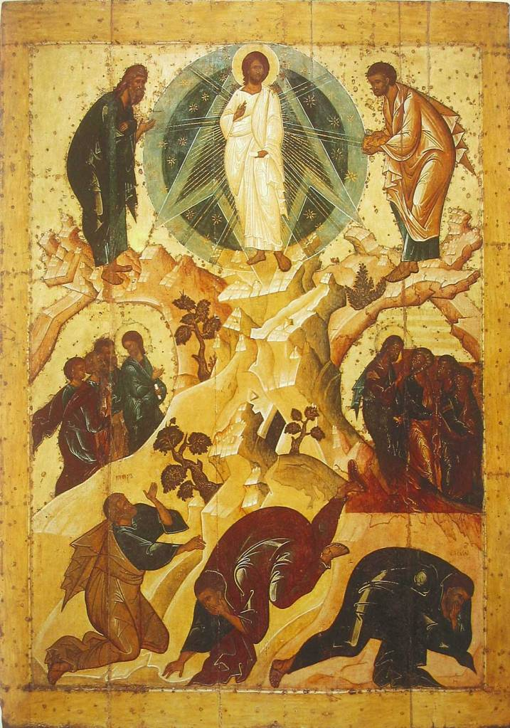 Icon of the Transfiguration, Spaso-Preobrazhensky Monastery, Yaroslavl, 1516