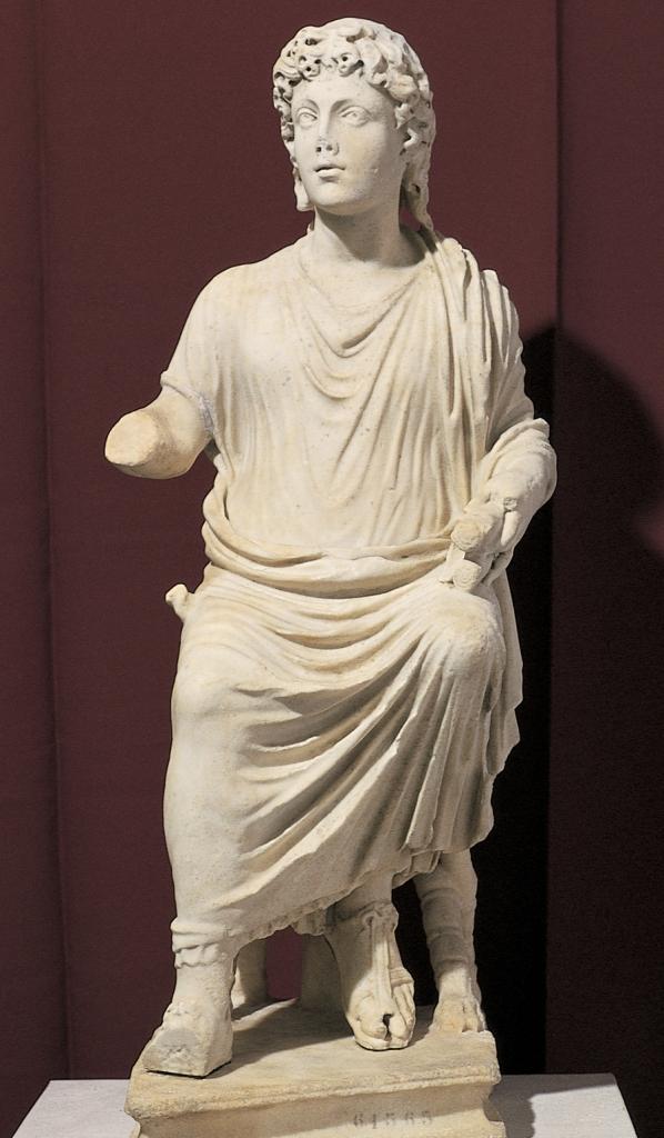 Seated Christ, Museo Nazionale delle Terme (Rome), c. 350