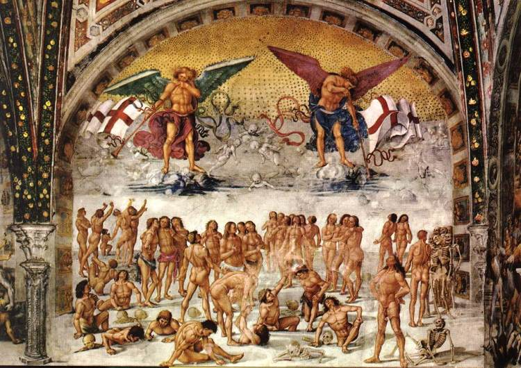 The Resurrection of the Flesh by Luca Signorelli, Chapel of San Brizio, Duomo, Orvieto