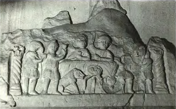 relief-of-mithraic-meal-from-konjic-dalmatia