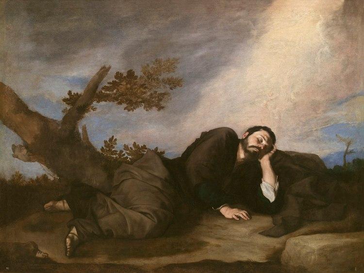 El sueño de Jacob by Jusepe de Ribera, 1639